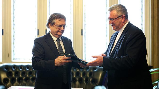Pro Cultura Christiana díjat kapott Zombori István