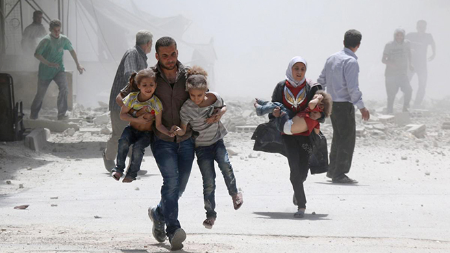 Drámai beszámoló Szíriából