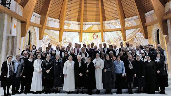 Európai szerzetesek találkozója Romániában