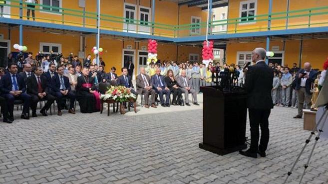 Magyar támogatással épült iskola Észak-Irakban