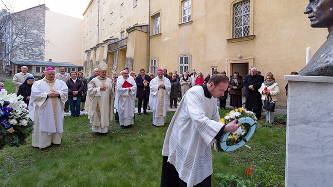 Prohászka Ottokár püspökre emlékeztek Budapesten