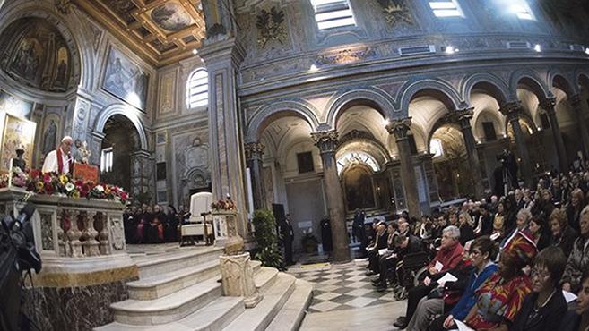 A római Szent Bertalan-bazilika, korunk mártírjainak emlékhelye
