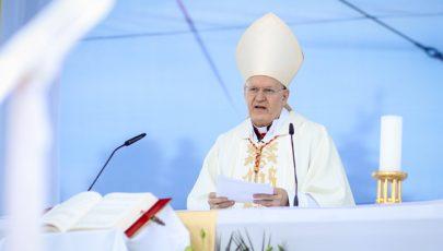 Erdő Péter homíliája Szombathelyen, Brenner János boldoggáavatási szentmiséjén