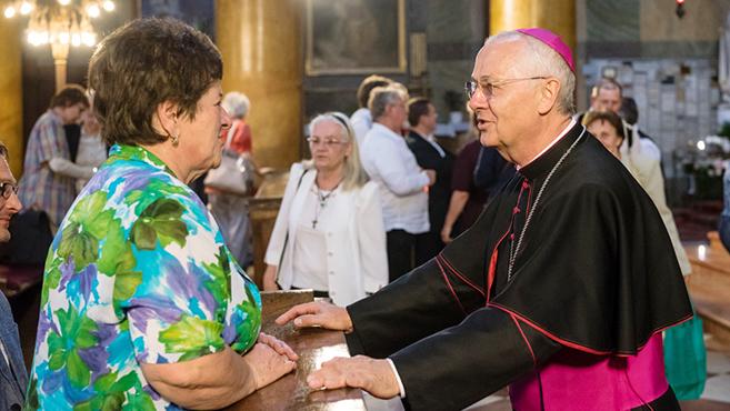 Egyházközségi munkatársak találkozója Egerben