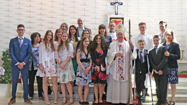 Hármas ünnep a montreali magyar katolikus közösségben