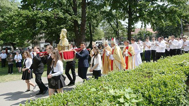 Szent László-zarándoklat Nagyváradon