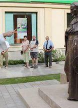 Szobrot állítottak Vaszary Kolos bíborosnak
