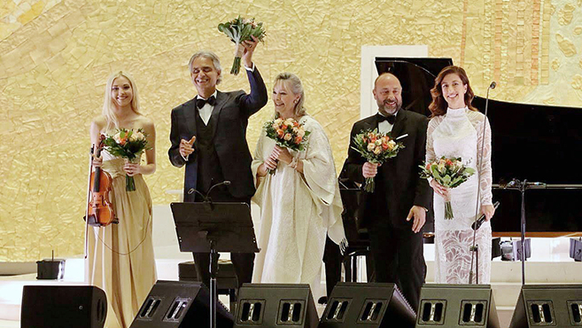 Andrea Bocelli Fatimában