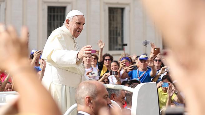 A tízparancsolatról szólFerenc pápa következő katekézissorozata