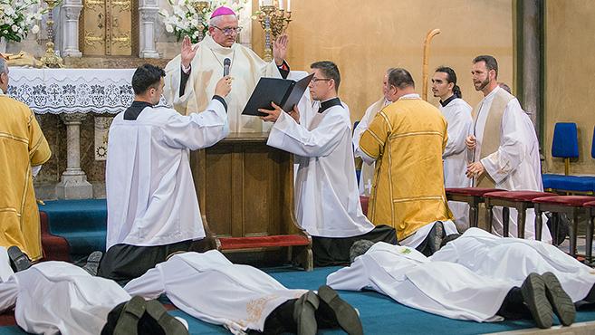 Pap- és diakónusszentelések országszerte (2.)