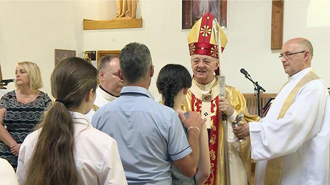 Megáldották a szerencsi katolikus iskola kápolnáját