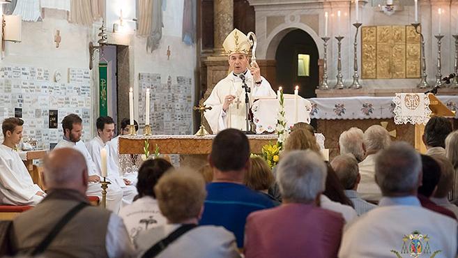 Tíz éve kapott basilica minor címet a máriagyűdi templom