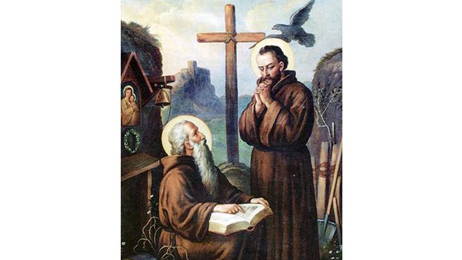 A hét szentje Szent Zoerard-András  és Benedek