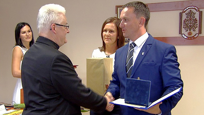 Peske-Spányi-díjban részesült Spányi Antal püspök