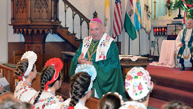Szent István király ünnepe Clevelandben