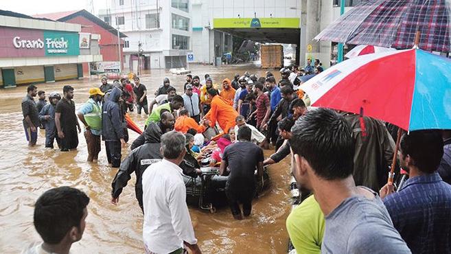 A Karitász segítsége az árvíz sújtotta Dél-Indiának