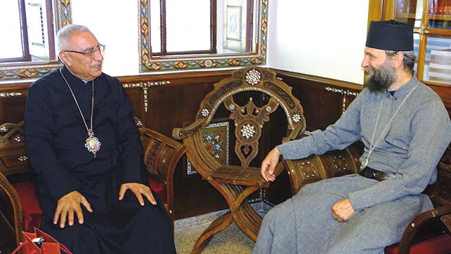 Damaszkuszba látogatott Kocsis Fülöp érsek-metropolita