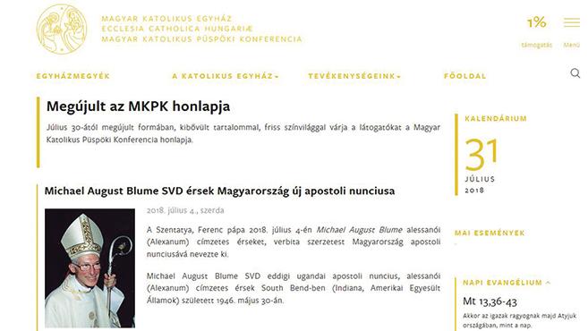 Megújult az MKPK honlapja