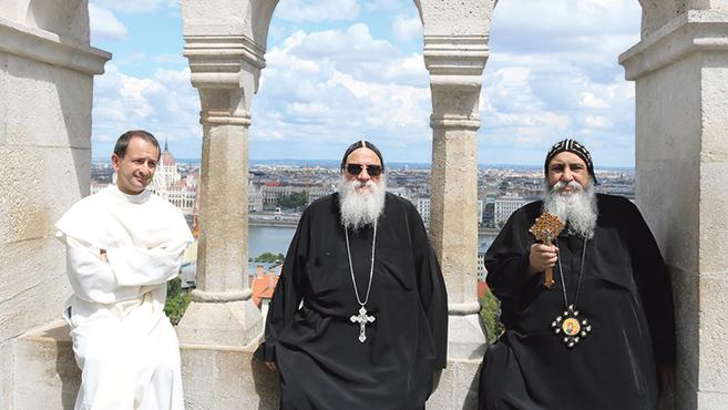 Magyarországra látogatott Remete Szent Pál egyiptomi kolostorának apátja