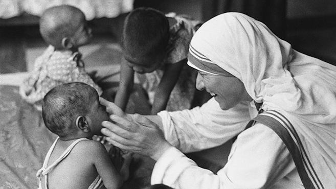 Teréz anya mindennapi imája