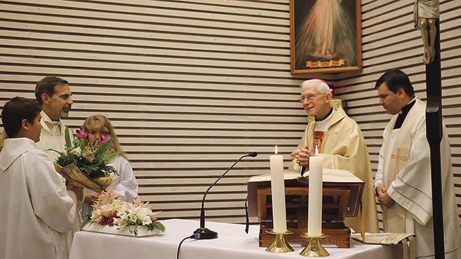 Első születésnapját ünnepelte a rákoskerti Szent XXIII. János-kápolna