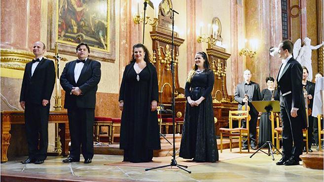 Mozart Requiemjét adták elő a szombathelyi székesegyházban
