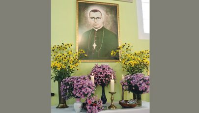 Boldog Bogdánffy Szilárd püspökre emlékeztek