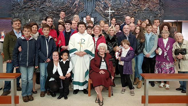 Magyar nyelvű liturgiát tartottak Manchesterben