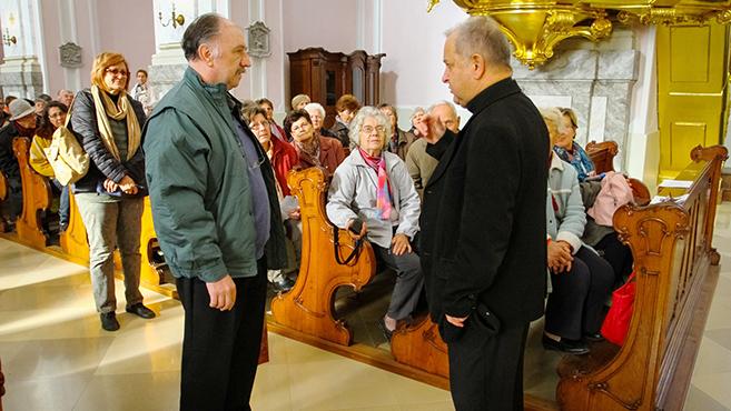 Kalocsára zarándokoltak a délvidéki Keresztény Értelmiségi Kör tagjai