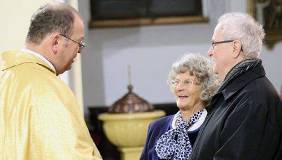 Jubiláns házaspárok adtak hálát Krisztus Király ünnepén Debrecenben