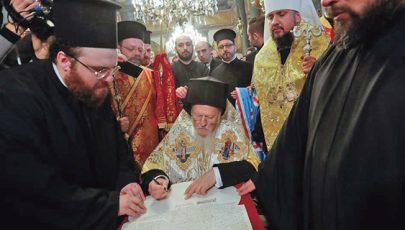 Hivatalosan is elismerték az önálló Ukrán Ortodox Egyházat