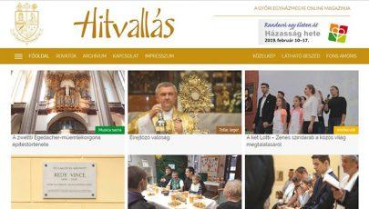 Elindult a Győri Egyházmegye online magazinja