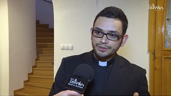 Nicaraguai papnövendék tett fogadalmat Egerben