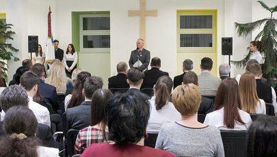 Új aula épült a Tomori Pál gimnáziumban Kiskunmajsán