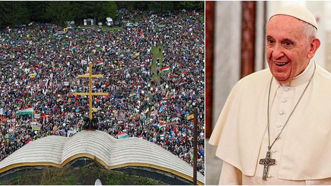 Ötvenezren regisztráltak eddig a csíksomlyói pápalátogatásra