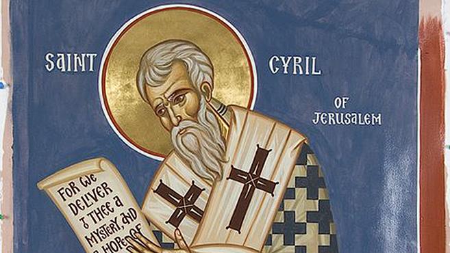 A hét szentje Jeruzsálemi Szent Cirill