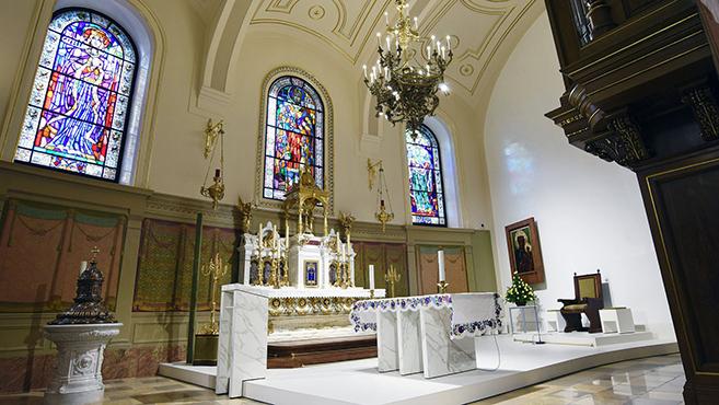Megújult a Szent István-bazilika kápolnája és sekrestyéje