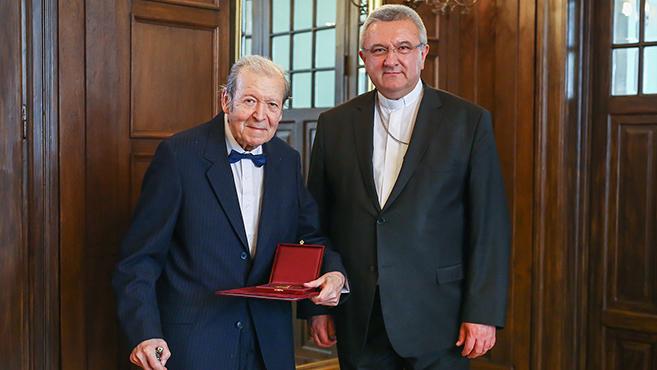Szeghalmi Elemér kapta a Pro Cultura Christiana díjat