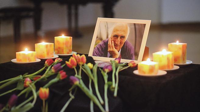 Jean Vanier-től búcsúztak Budapesten