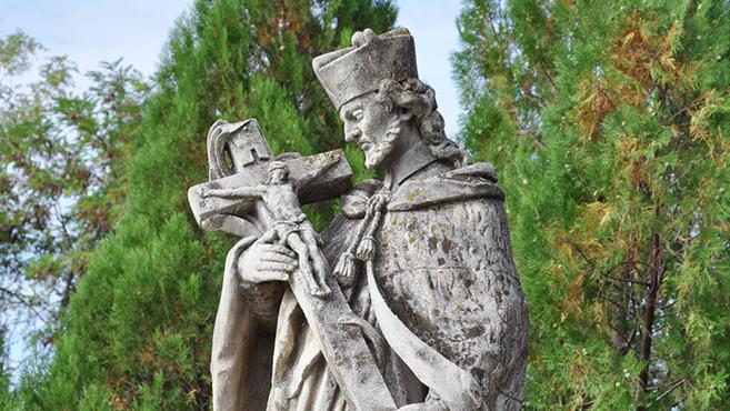 A hét szentje Nepomuki Szent János
