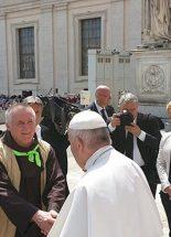 Böjte Csaba kérése Ferenc pápához