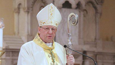Ezüstmiséjét ünnepli Palánki Ferenc püspök