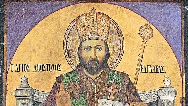 A hét szentje Szent Barnabás