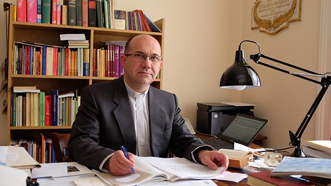 Marton Zsolt rektort váci püspökké nevezte ki a Szentatya