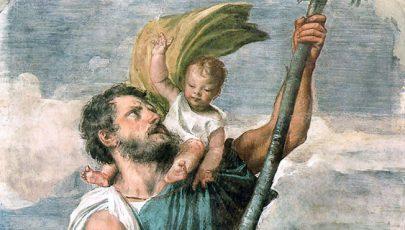 A hét szentje Szent Kristóf