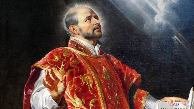 A hét szentje Loyolai Szent Ignác