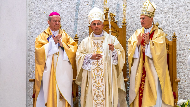 Iosif Păuleţ püspökké szentelése