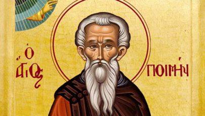 A hét szentje Szent Poimén