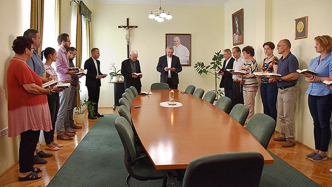 Győrbe látogatott az apostoli nuncius