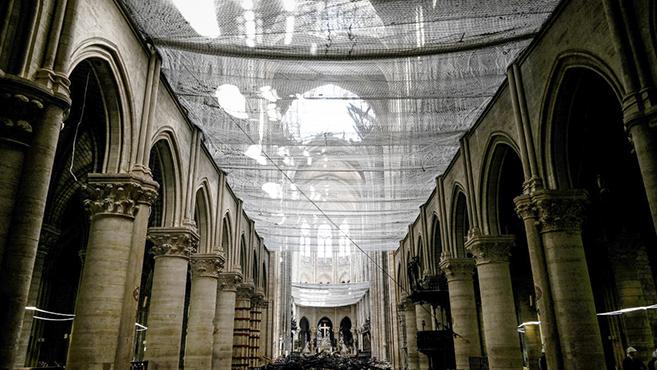 Megmenekült a párizsi Notre-Dame egyik kincse